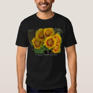 Men's T / Prickly Pear Cactus Blooms Shirt