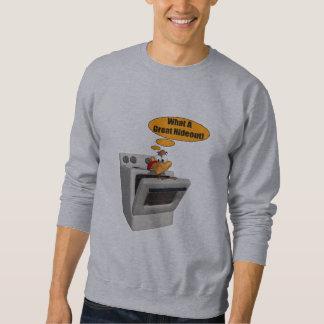 Mens T-Shirt - Funny Turkey Hideout