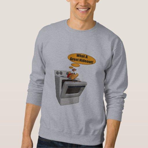 Mens t shirt funny turkey hideout zazzle for Turkey mens designer shirts
