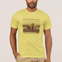 Men's T-shirt / Polar bear & cubs