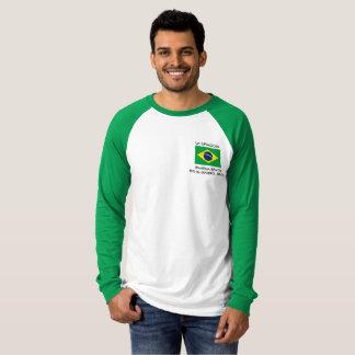 Men's T-Shirt with Brazilian flag.