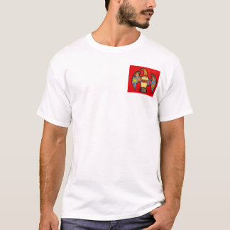 Men's T-Shirt with Bright Eagle