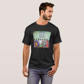 Men's t-shirt with colorful photo of Ugandan women