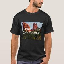 Men's T-Shirt with Garden of The Gods