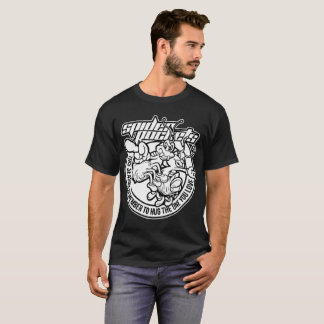 men's t-shirt with holiday graphic