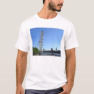 Mens T Shirt with London Eye Ferris Wheel