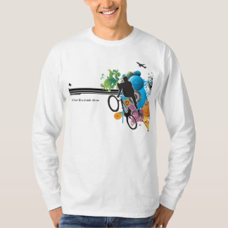 Mens T-shirt with Music Show