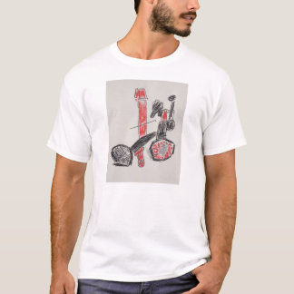 Men's T-shirt with THE BICYCLE logo