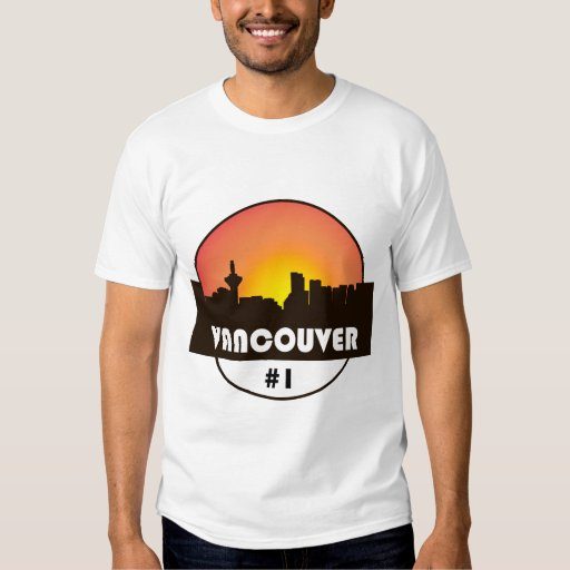 Men 39 s t shirt with vancouver canada logo print zazzle for Vancouver t shirt printing