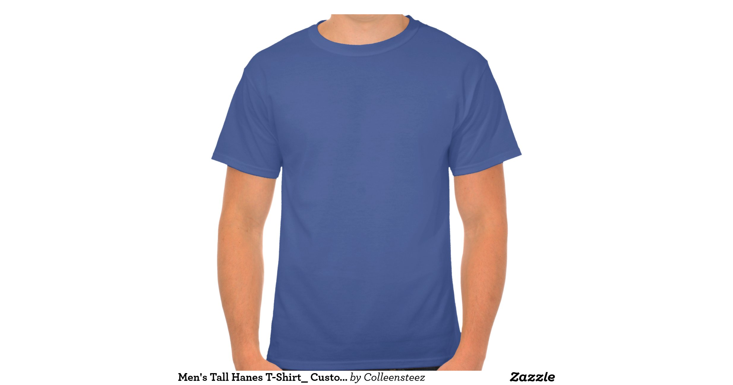 Mens tall hanes t shirt customize it tshirts for T shirt for tall man