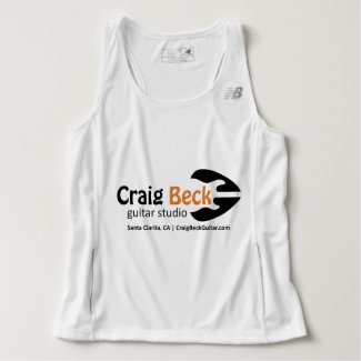 Men's Tank Top | Craig Beck Guitar Studio