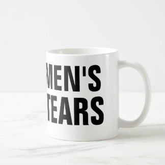 Men's Tears Coffee Mug