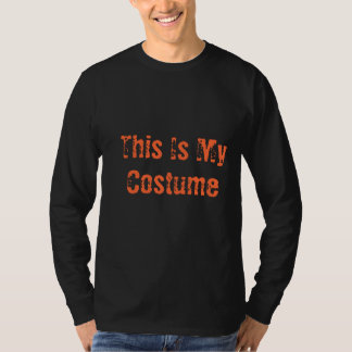 Mens Tee My Costume