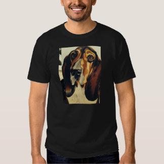 Men's Tee-shirt Basset Hound Design Shirt