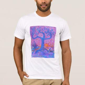 Men's Tee Shirt  -Happy Tree