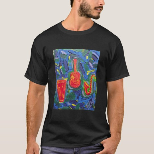 Men's Tee Shirt -jazz vibrations