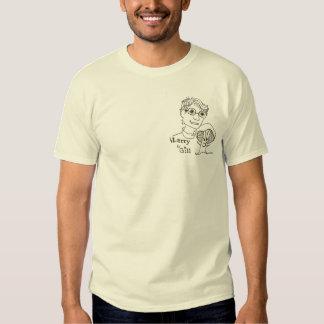 mens tee shirt  Larry & Gill Logo