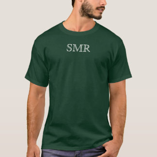 Men's TEE. w/ SMR on front chest T-Shirt