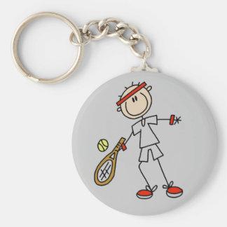 Mens Tennis Keychain