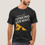 """Mens Thinking Sideways Podcast logo 2016 T-Shirt<br><div class=""""desc"""">Check out our new logo. It&#39;s awesome right?!? Anne did a fantastic job and we&#39;re making it available as a shirt. You are going to look so cool in this</div>"""