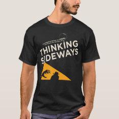Mens Thinking Sideways Podcast Logo 2016 T-shirt at Zazzle