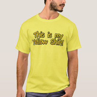 Men's This Is My Yellow Shirt (No Logo)