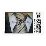 Men's Tie Postage Father;s Day