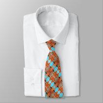 Men's Tie Swine Love