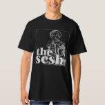 """Men's """"Todd Kessler in The Sesh"""" Black Tee"""