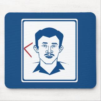 Men's Toilet Sign, Thailand Mousepad