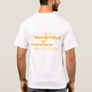 Men's Tops: back layout T-Shirt