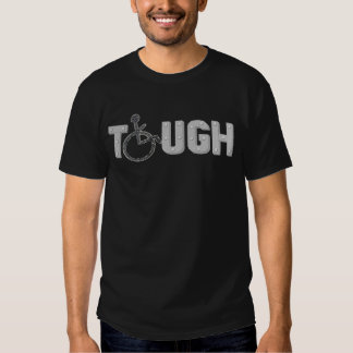 Men's TOUGH Wheelchair/Handicap Awareness Tshirt