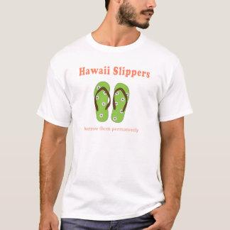 Mens Travel Slippers T-Shirt