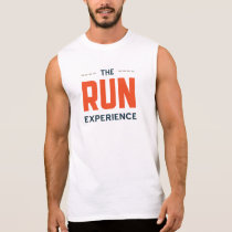 Men's TRE Logo performance tank top (white)