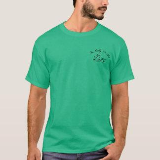 Mens tshirt, dark colors, front logo T-Shirt