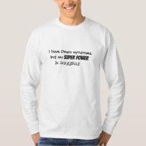 "Mens Tshirt ""...my super power is hugging"""