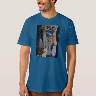 Mens Tshirt with Custom Art Print