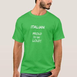 Mens tshirt with Italian Sayings