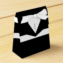 Mens Tux - Groom or Groomsmen Tuxedo Favor Box
