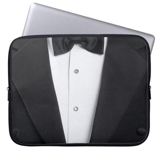 Mens Tuxedo Case Cover Laptop Computer Sleeve