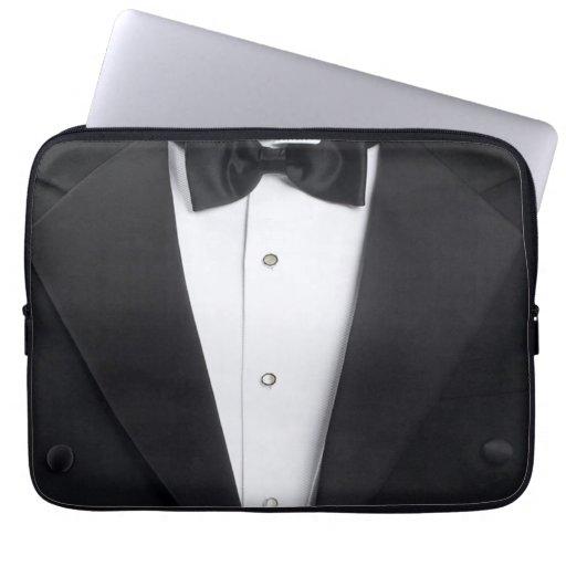 Mens Tuxedo Case Cover Laptop Computer Sleeves
