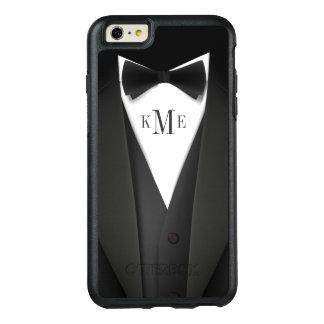 Mens Tuxedo Suit Look Monogram Initials OtterBox iPhone 6/6s Plus Case