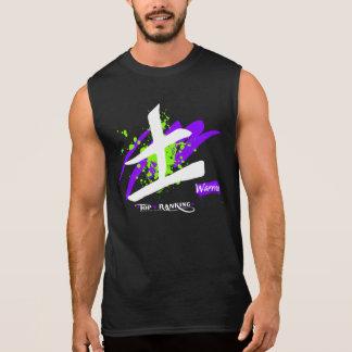 Men's Ultra Cotton Sleeveless Kanji/Warrior T Sleeveless T-shirt