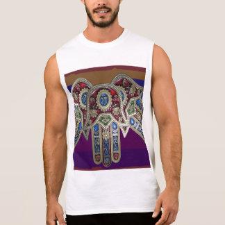Men's Ultra Cotton Sleeveless T- : DISPLAY SYMBOLS Sleeveless Shirts