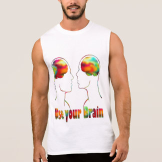 Men's Ultra Cotton Sleeveless T-Shirt-art Sleeveless Shirt