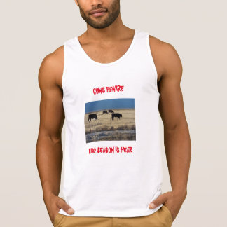 Men's Ultra Cotton Tank Top with funny desin.