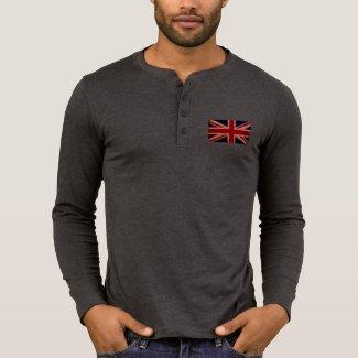 Men's Union Jack Henley