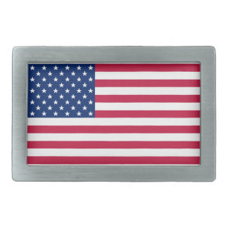 Mens USA American Flag Patriotic Belt Buckle