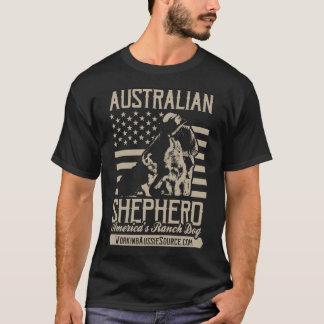 Men's USA Aussie shirt - front
