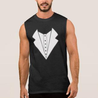 Men's Vest print Sleeveless T-Shirt